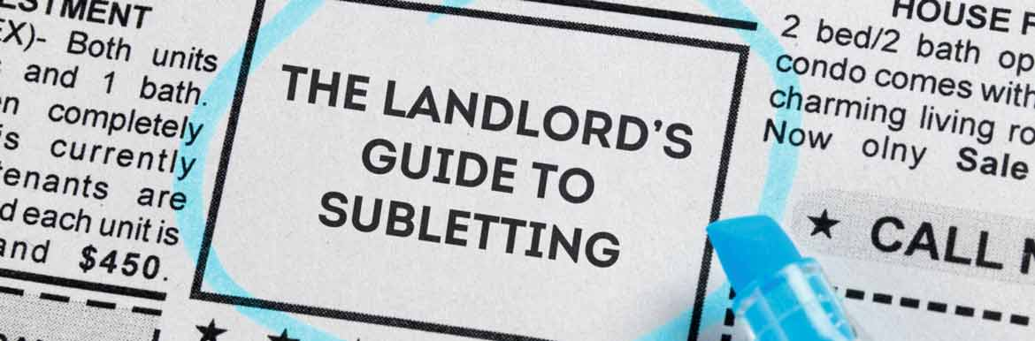 landlord guide to subletting